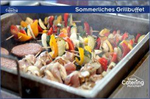 Sommerliches Grillbuffet Catering Straubing