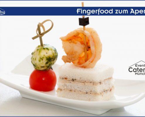 Fingerfood zum Aperitif Catering Straubing