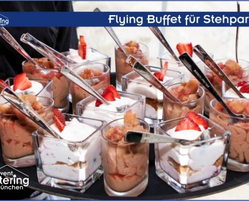 Flying Dessert Buffet von Catering Straubing