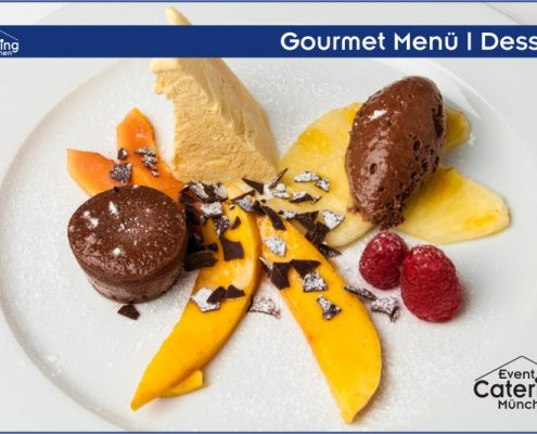 Gourmet Menü Dessert Catering Straubing
