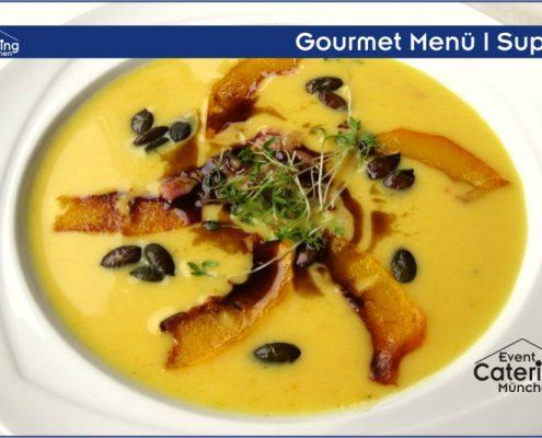 Gourmet Menü Suppe Catering Straubing