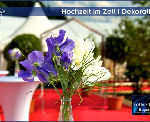 Hochzeit + Catering im Zelt von Zeltverleih Straubing