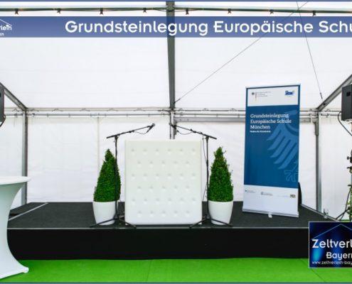 Grundsteinlegung Zeltverleih Straubing