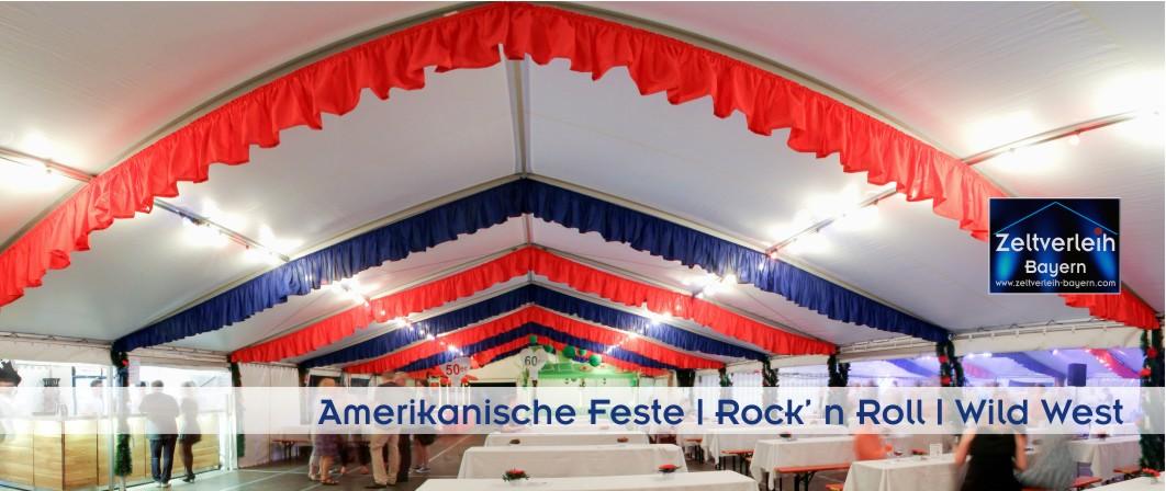 Amerikanische Feste Zeltverleih Straubing