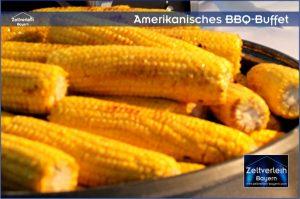 Amerikanisches BBQ Zeltverleih Straubing