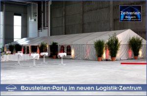 Baustellenparty Zeltverleih Straubing