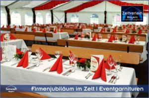 Firmenjubiläum im Zelt Zeltverleih Straubing