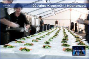 Gala 100 Jahre Kropfmühl Zeltverleih Straubing