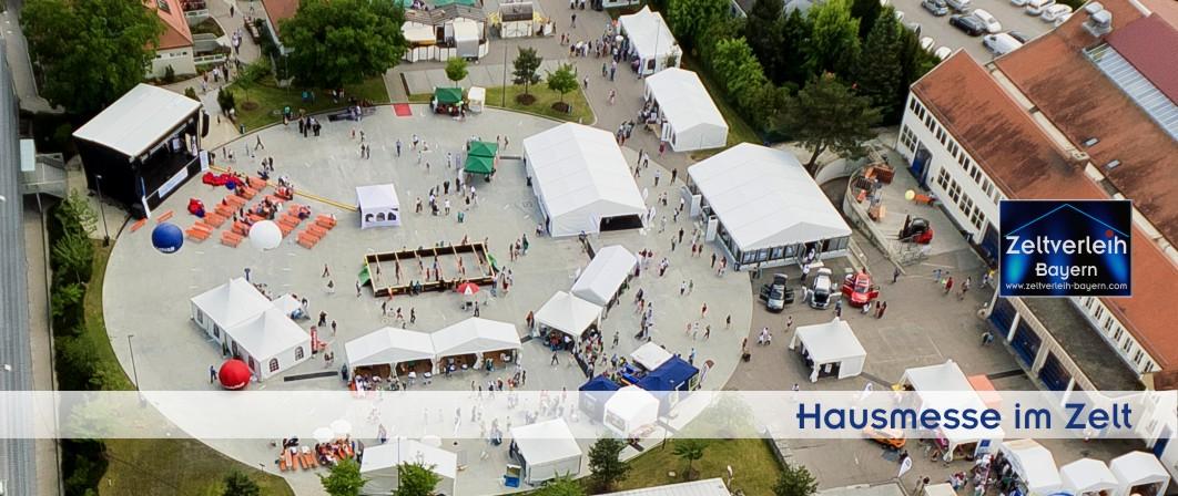 Hausmesse im Zelt Zeltverleih Straubing