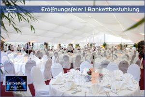 Eröffnungsfeier im Zelt Zeltverleih Straubing